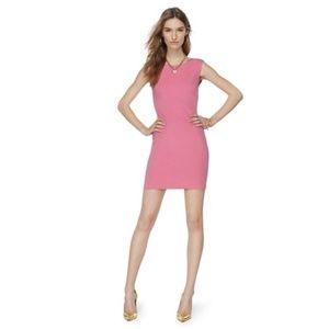 Juicy Couture Solid Ponte Knit Bodycon Tank Dress